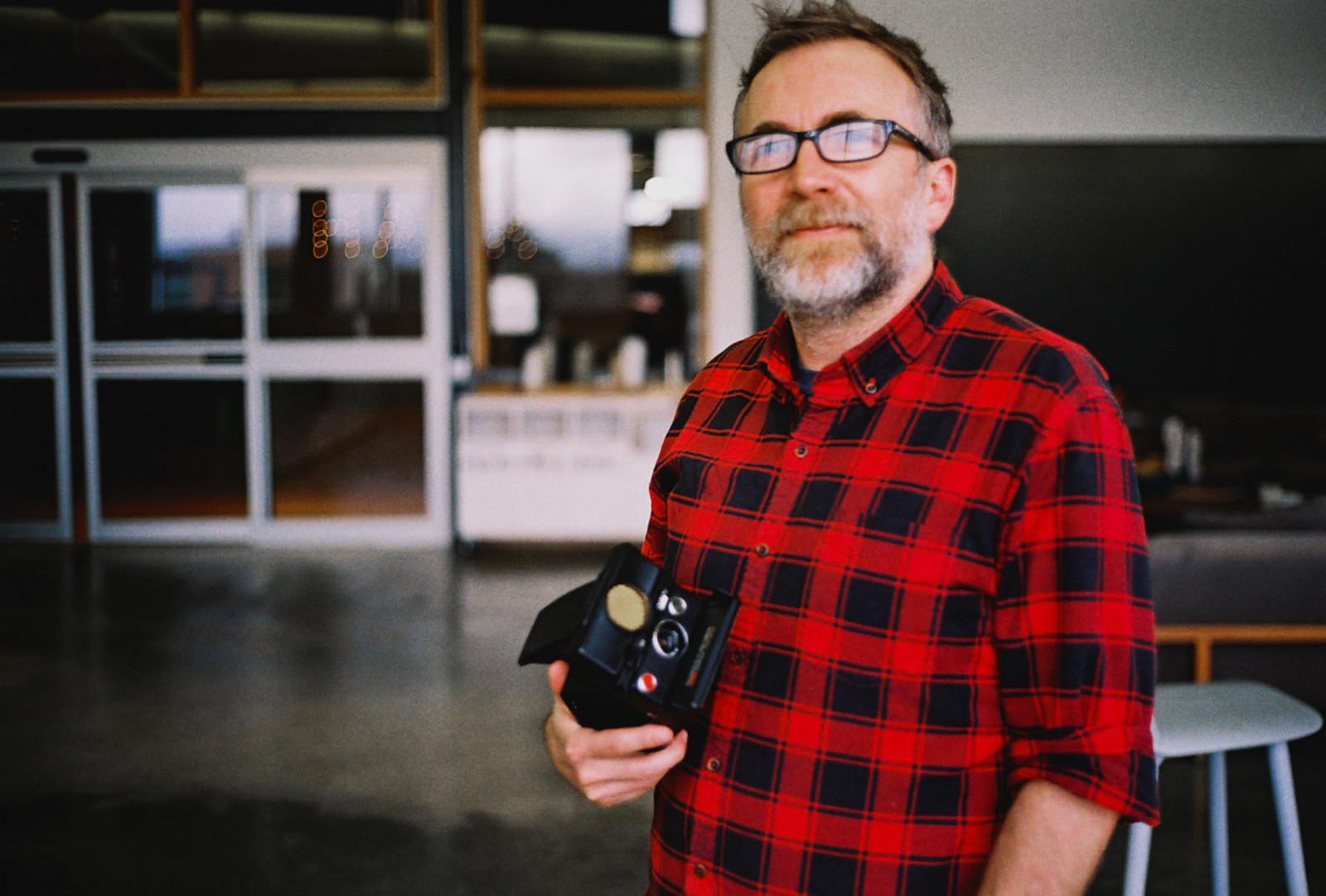 Portrait of Scott by Cris Mendoza