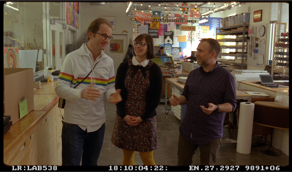 Filming An Impossible Project in the Analog Lab at Facebook