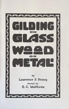 Gilding on Glass, Wood, or Metal