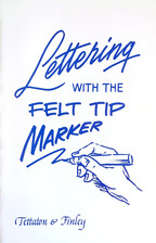 Lettering with the Felt Tip Marker