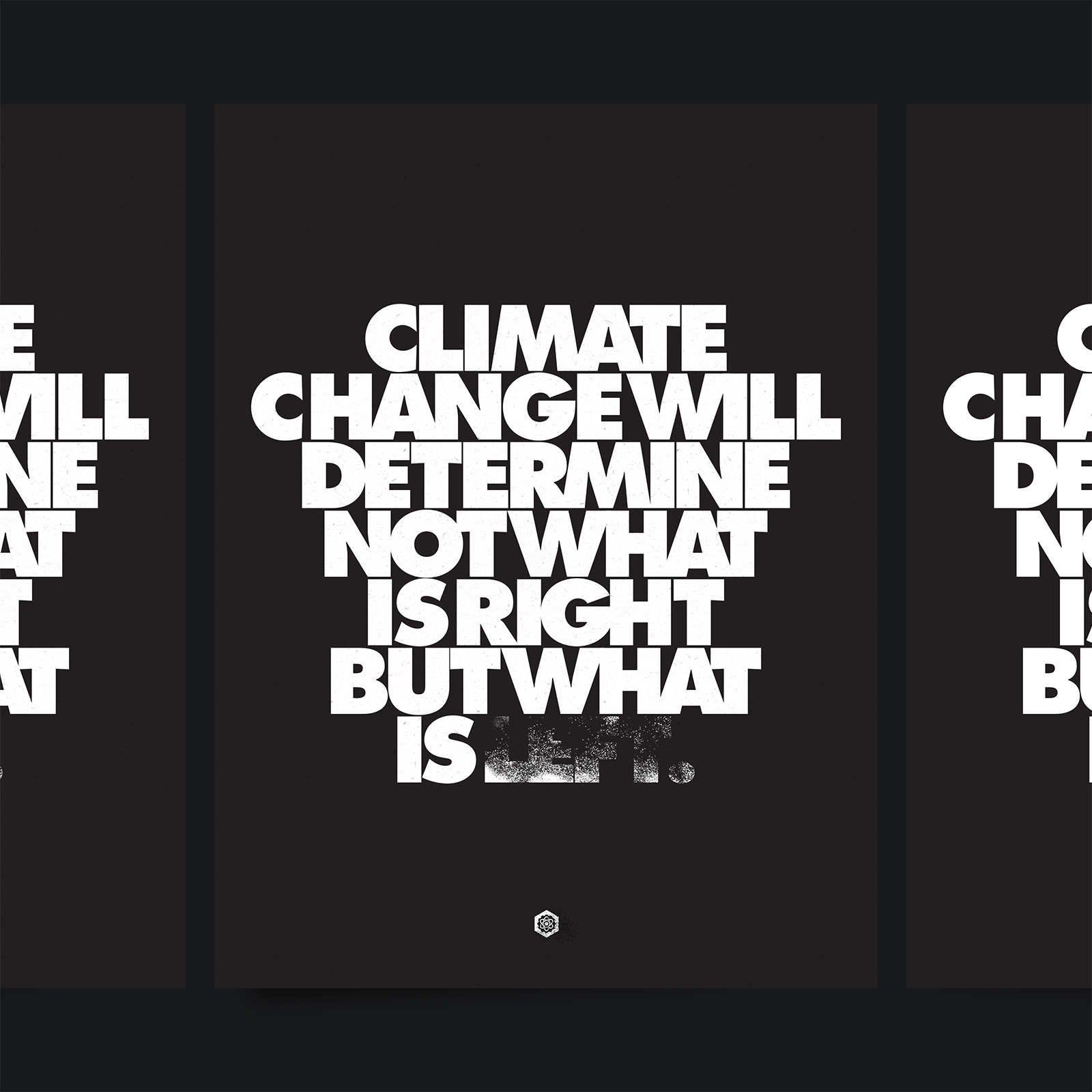 Climate Change Will Determine Not What is Right But What is Left