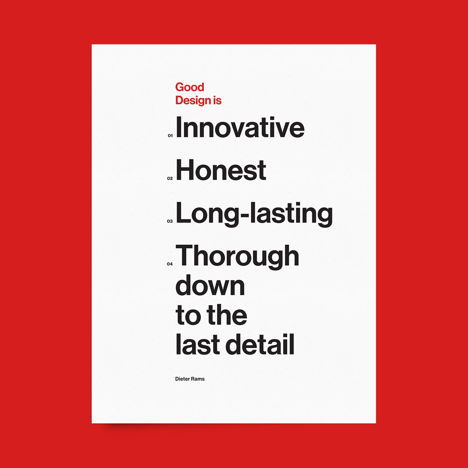 Good Design Is...